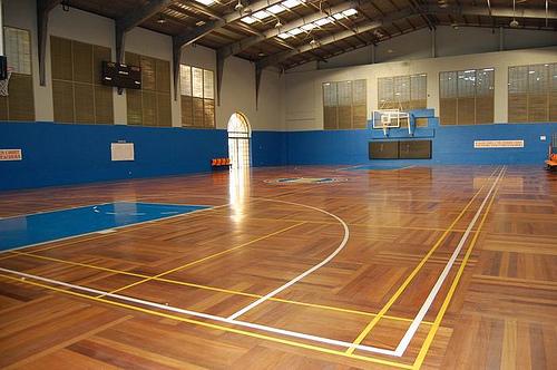 Casa Milan Neopolitan Basketball court